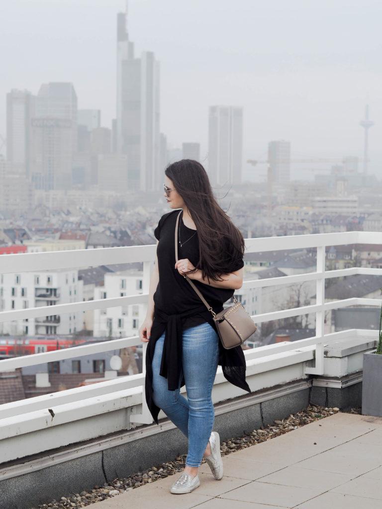 Aussicht über Frankfurt