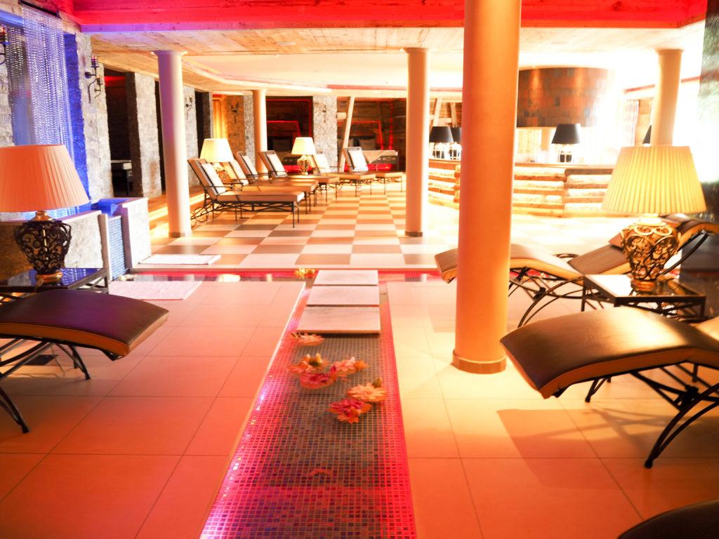 Hotel Plunhof Wellnessbereich