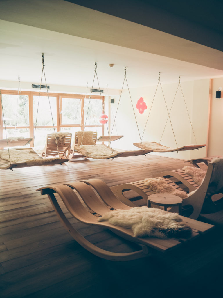 Arosea Life Balance Hotel Entspannungsbereich