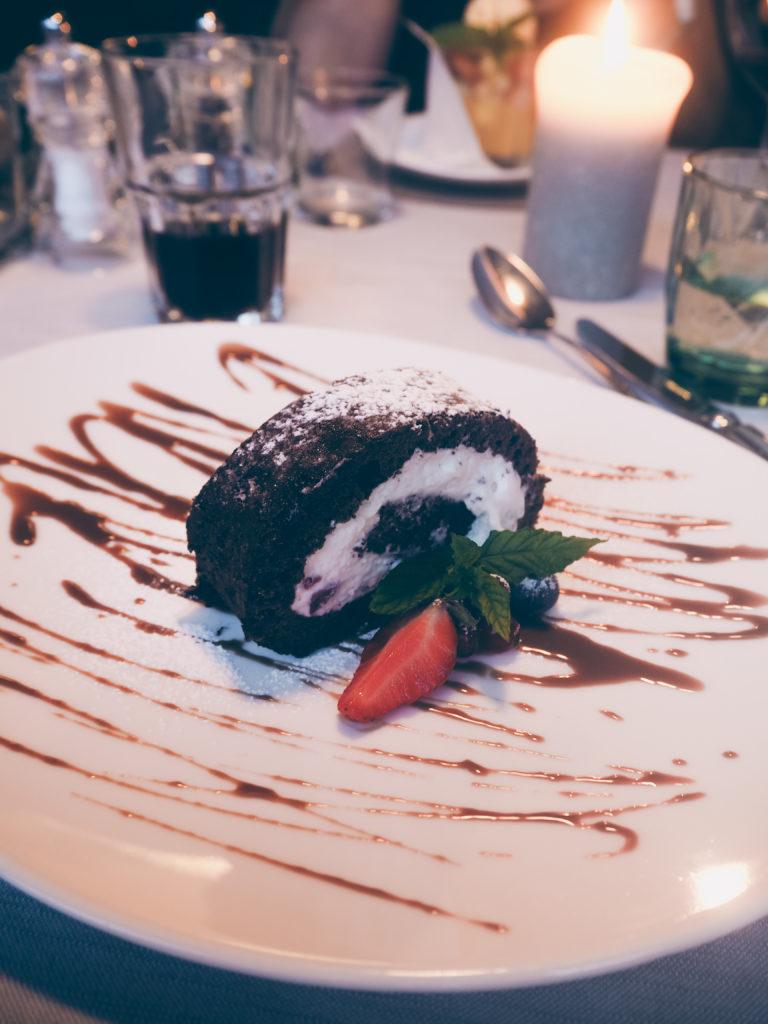 Arosea Life Balance Hotel Abendessen Dessert