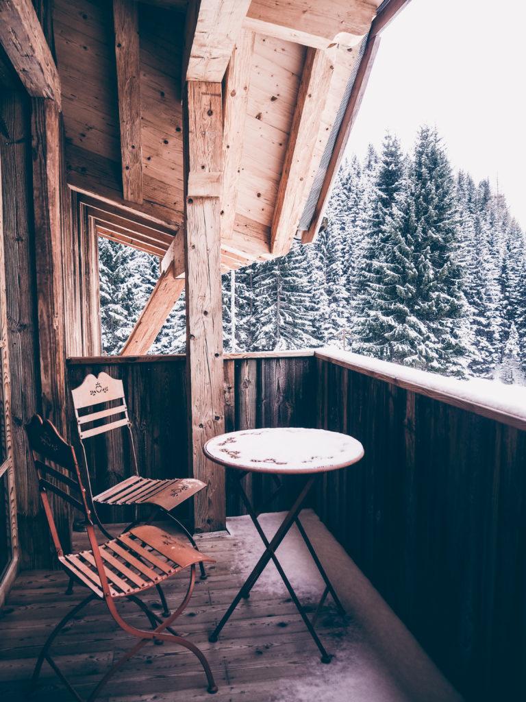 Kasermandl Hütte Ausblick