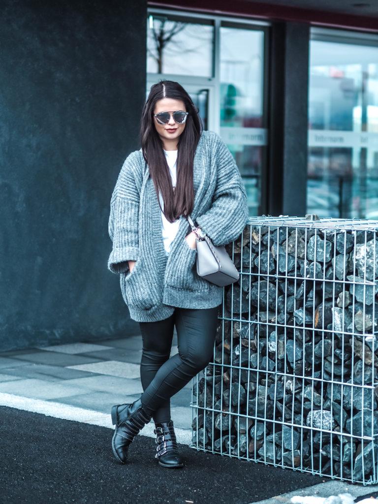 Outfit Fulltimelifeloverblog Oversized Cardigan