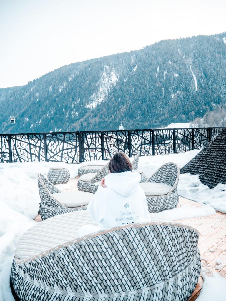 Silena Hotel Ausblick