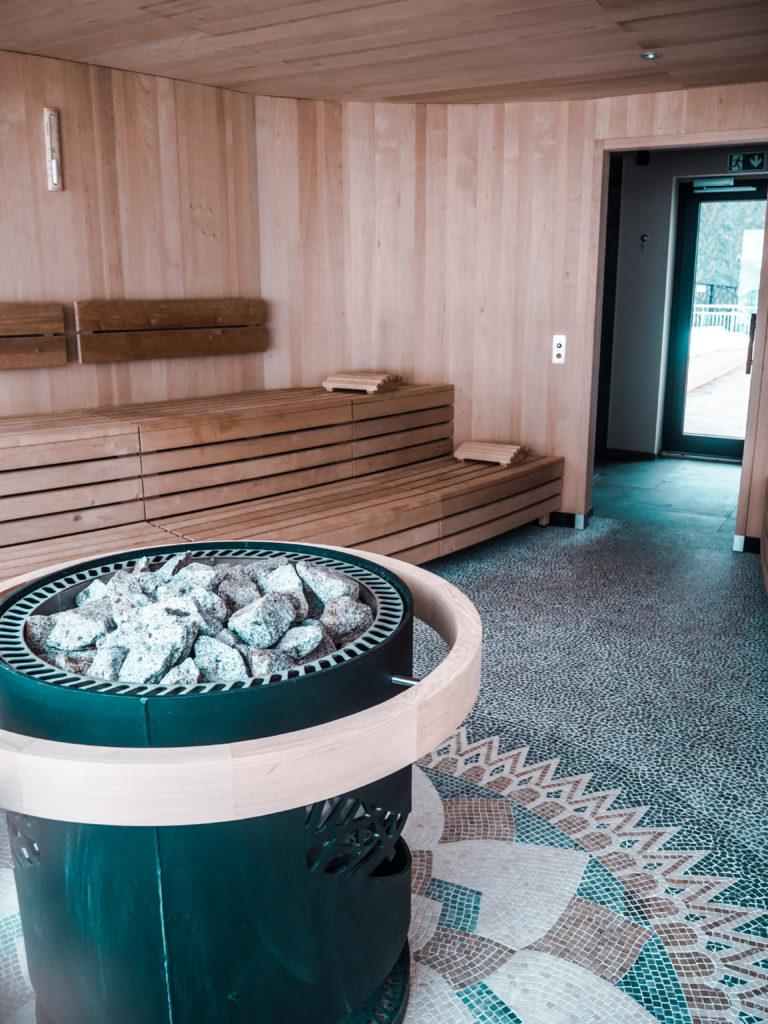 Silena the soulful Hotel Sauna