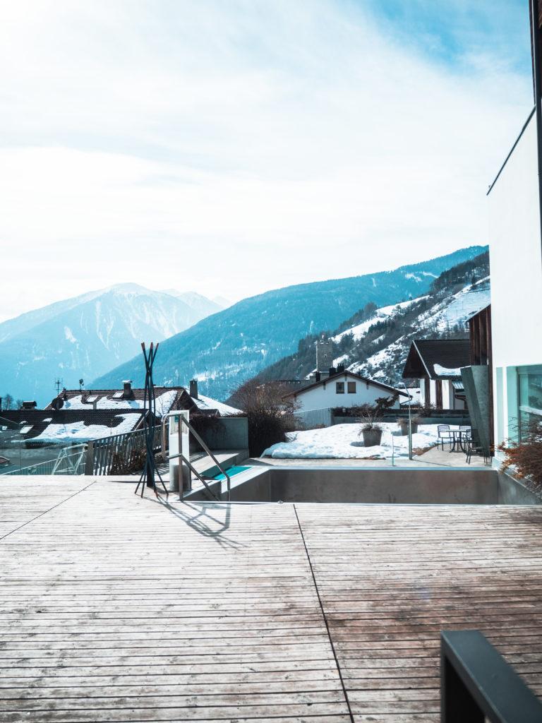 Südtirol Burgeis Wellnesshotel Weißes Kreuz