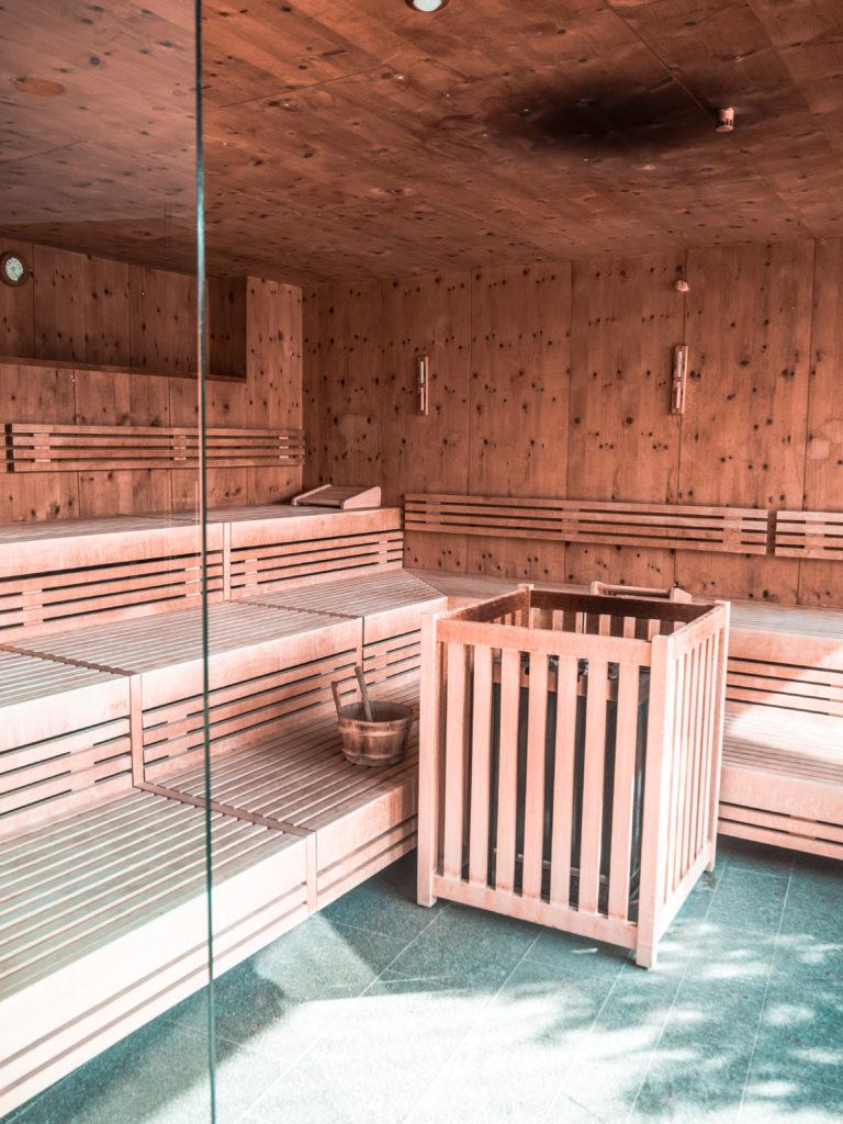 Weißes Kreuz Hotel Südtirol Sauna