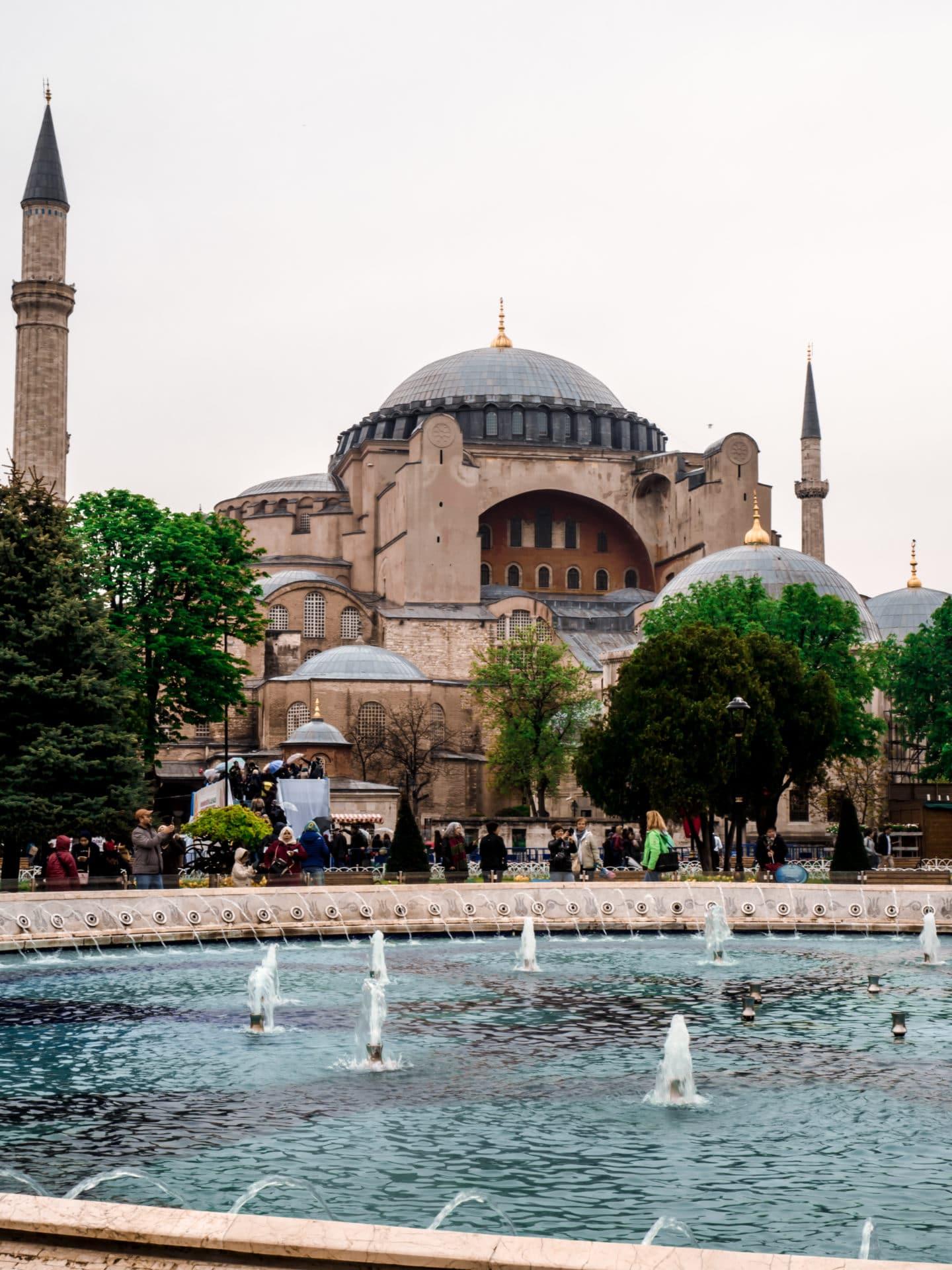 Hagia Sophia Außenansicht