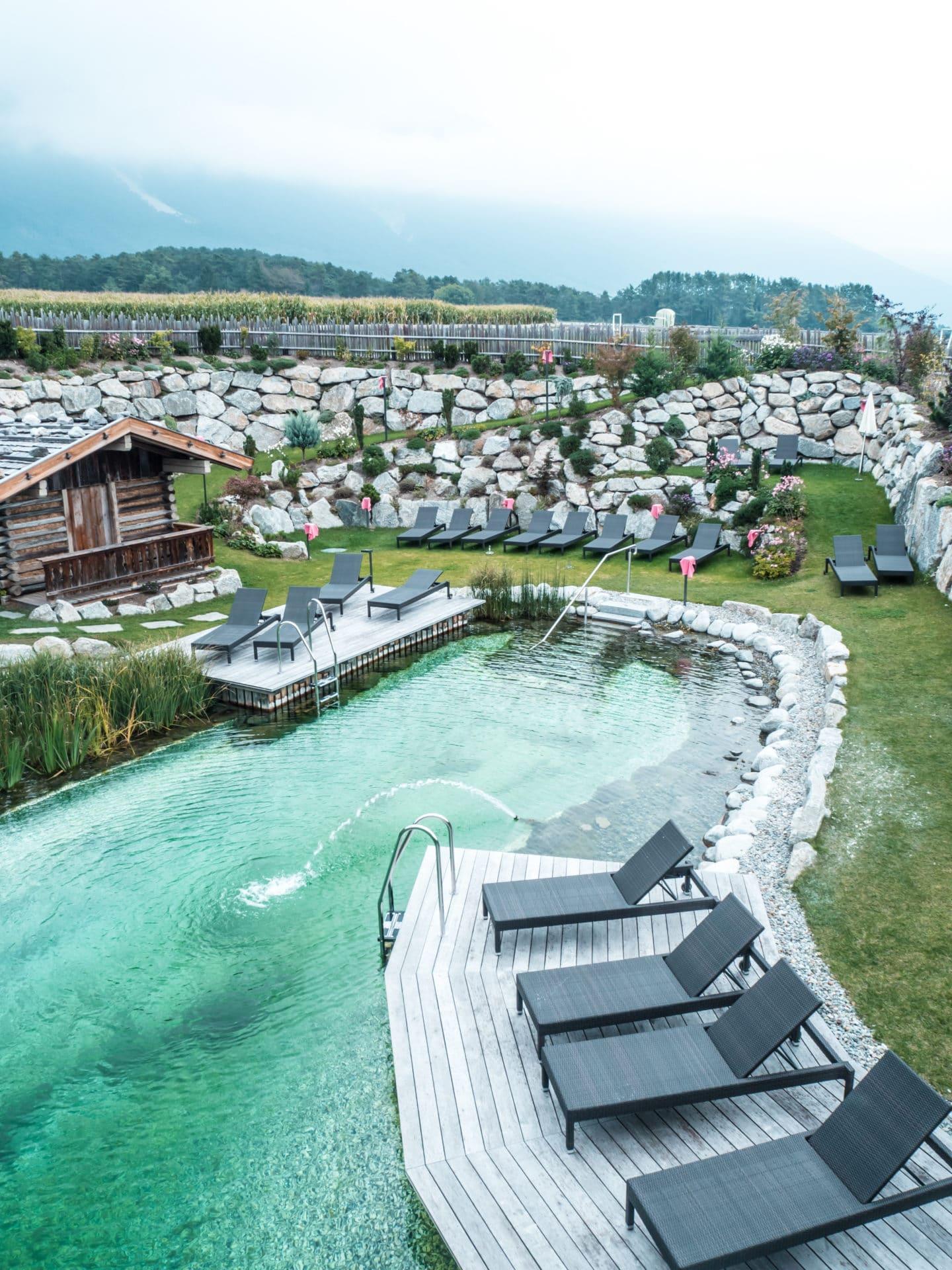 Alpenresort Schwarz Wellness Bereich