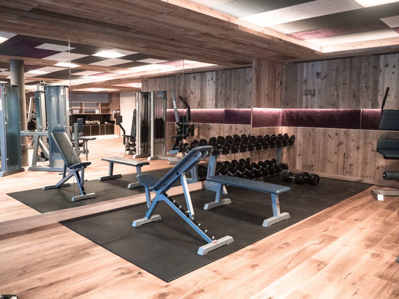 Fitnessbereich Hotel Plunhof