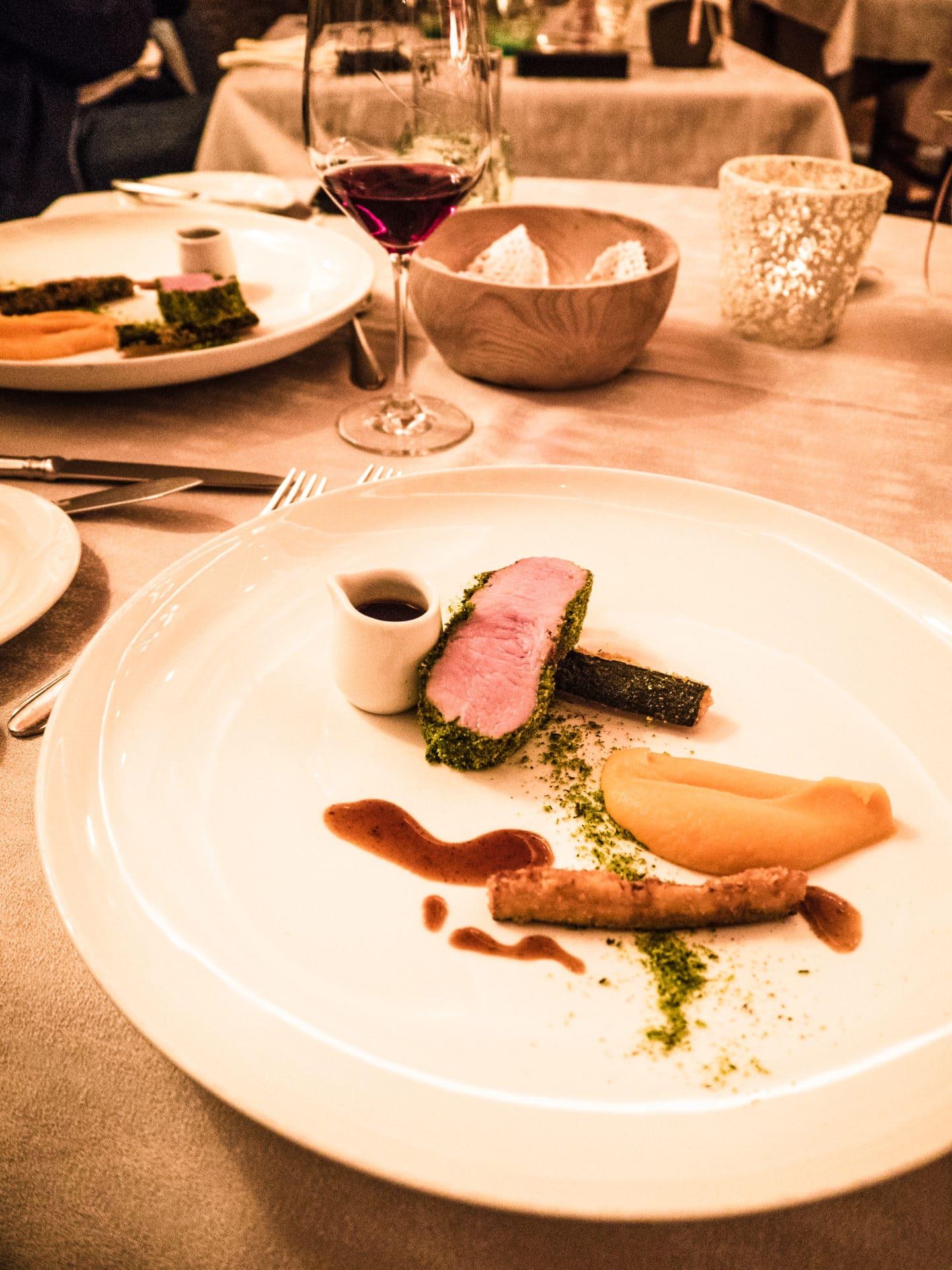 Abendessen Hotel Plunhof