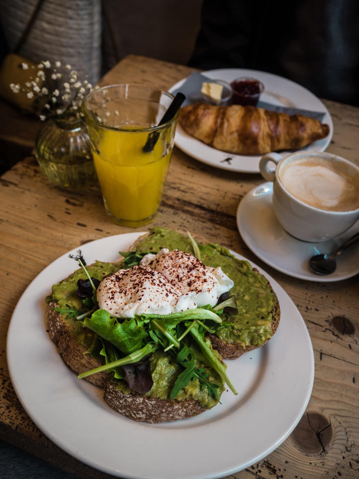 PULK Amsterdam Frühstück