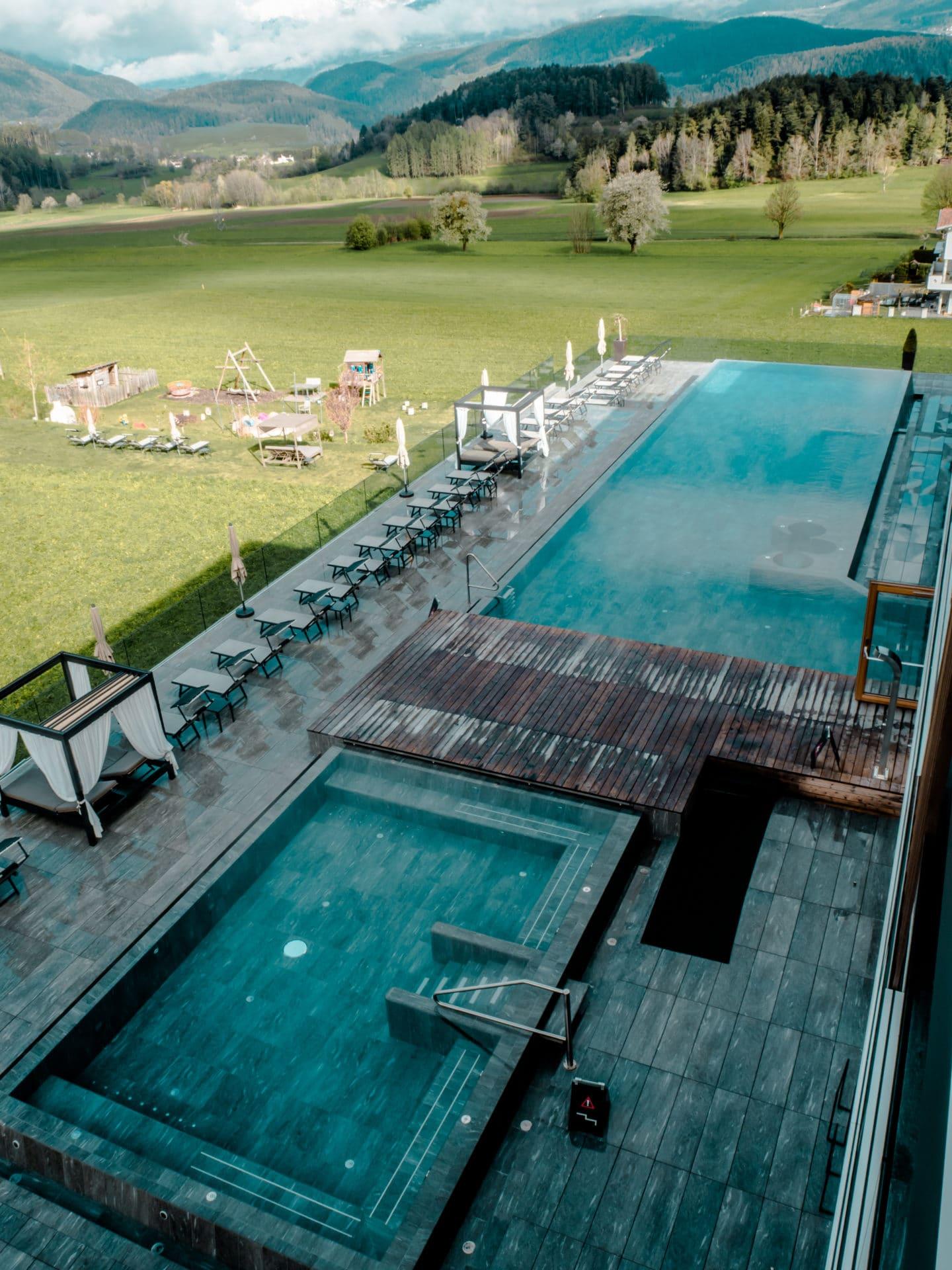 Aussicht Hotel Winkler Südtirol