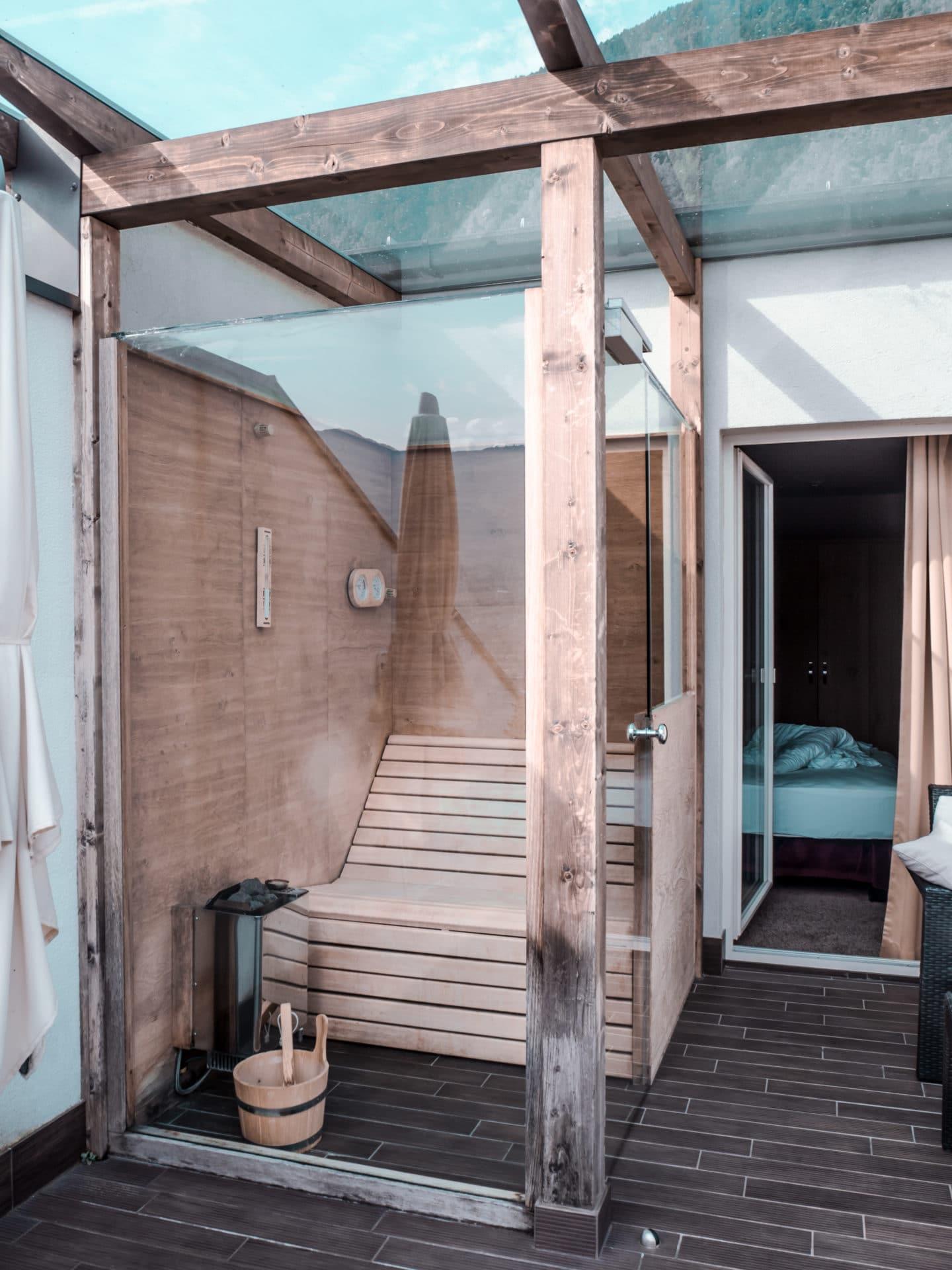 La Maiena Meran Resort Sauna Penthouse Suite