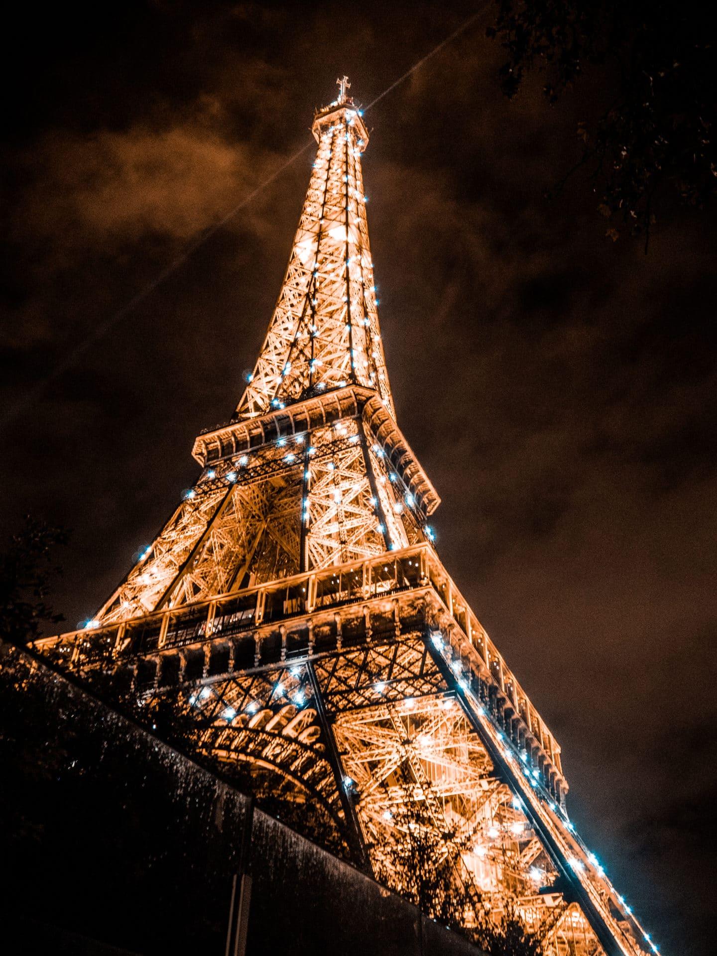 Eifelturm bei Nacht Paris