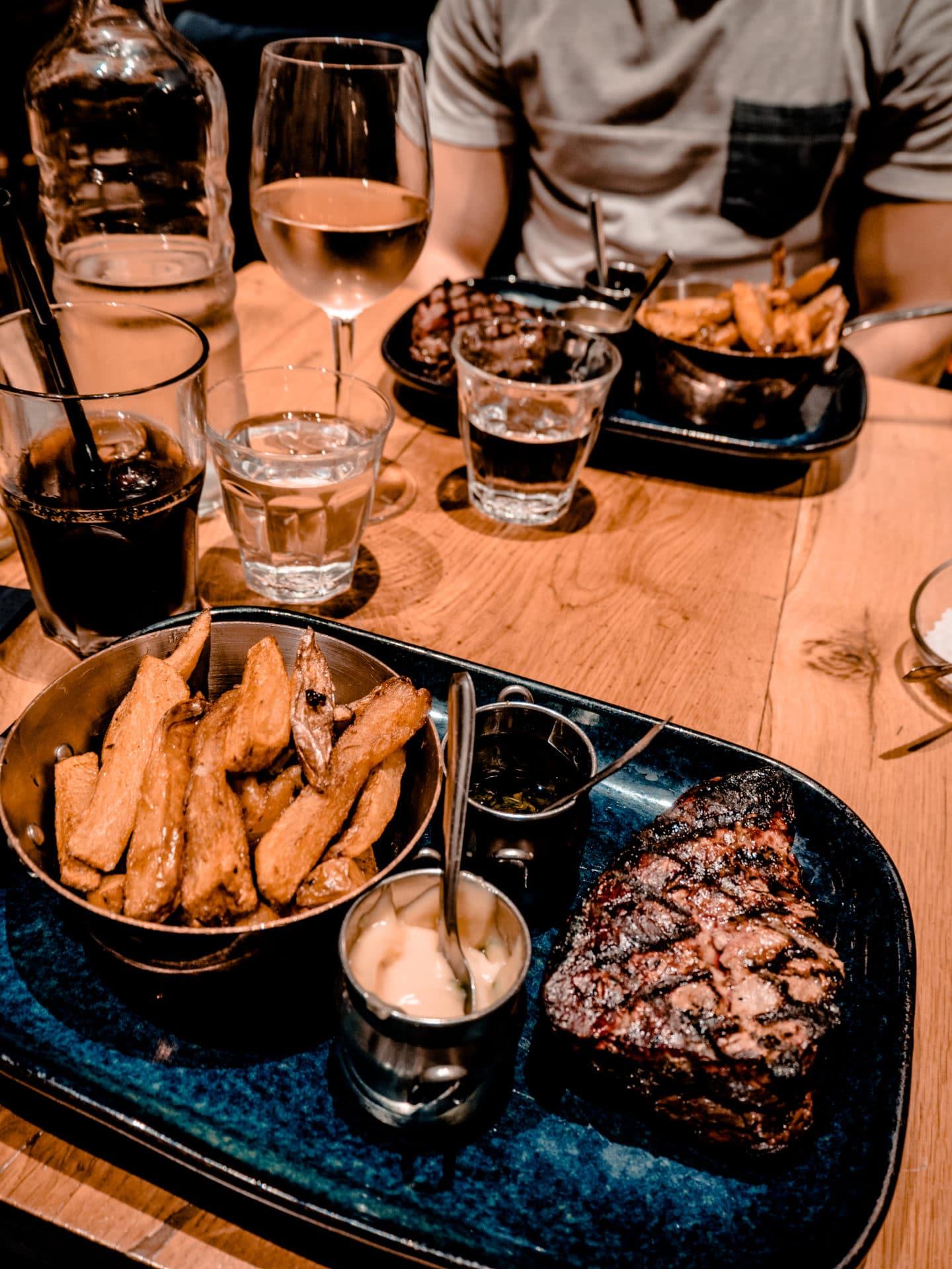 Les Fines Lames Steak Restaurant Paris